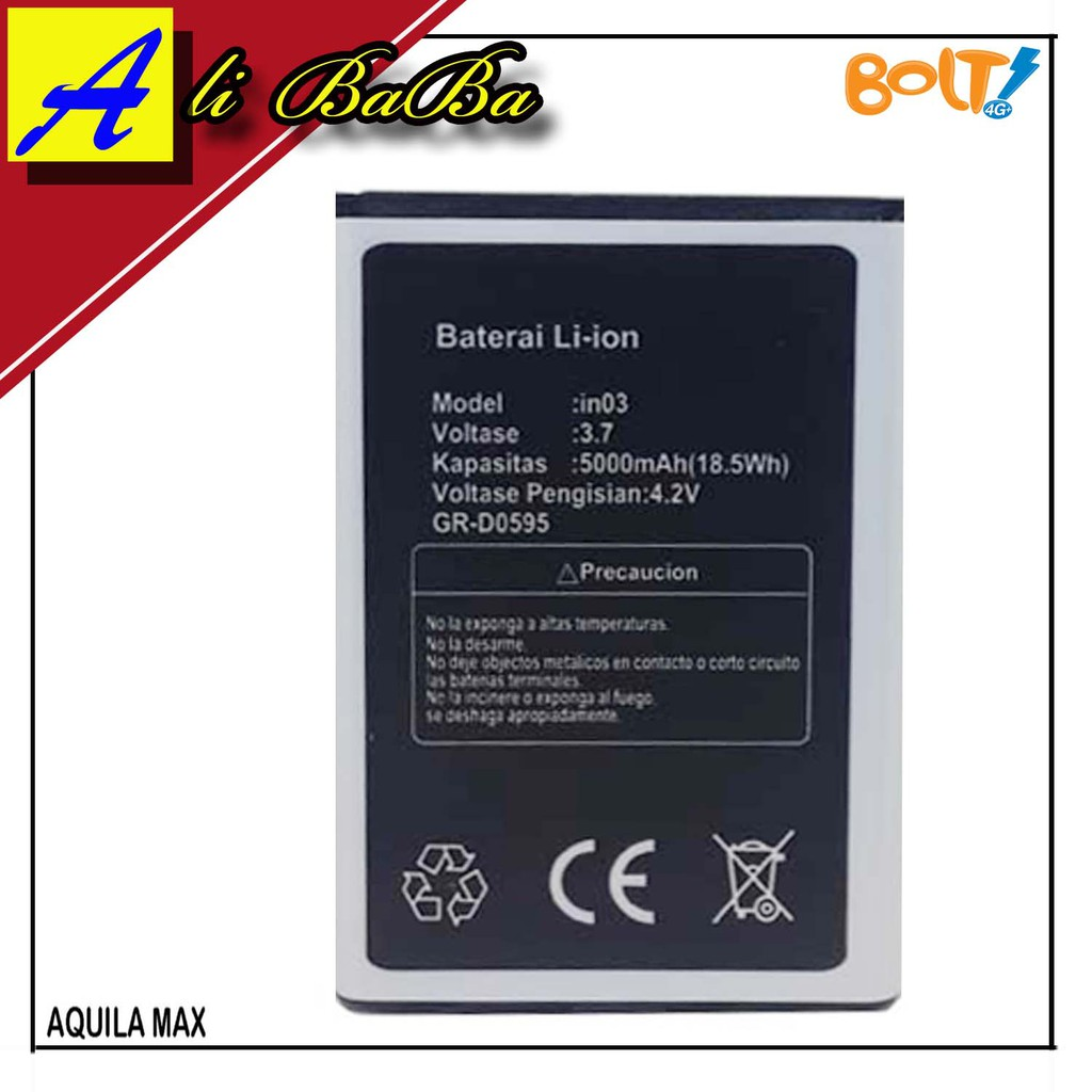 Log On Baterai Modem Andromax M3y M3z 3800 Mah Shopee Indonesia Battery M3s