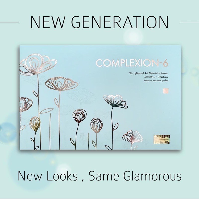 COMPLEXION 6 READY NEW
