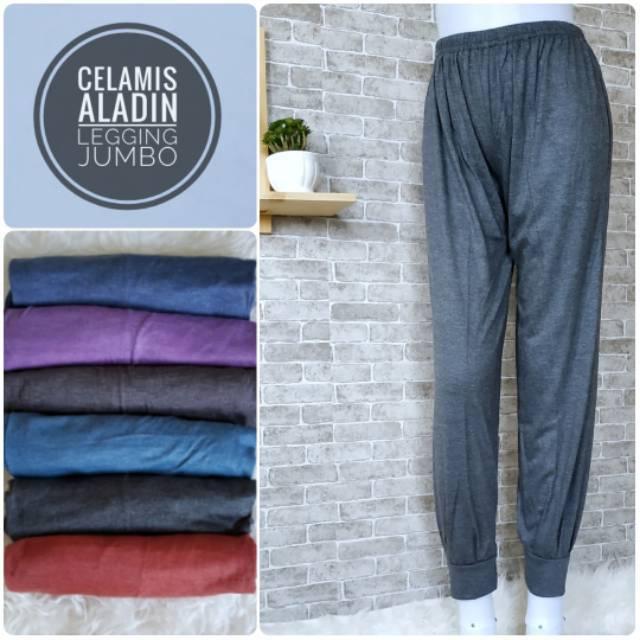 PROMO Celamis JN, celana dalaman gamis, joger aladin panjang wanita muslimah, celana perempuan | Shopee Indonesia