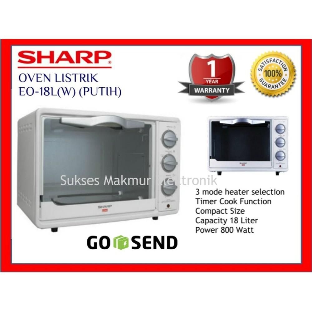 Terlaris Oven Listrik Kirin Kbo19lw Low Watt Shopee Indonesia Elektrik Kbo190raw 19 L
