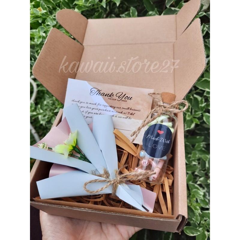 Hampers Kado Unik Murah Gift Box Murah Hampers Wish In Bottle Kado Wisuda Kado Murah Shopee Indonesia