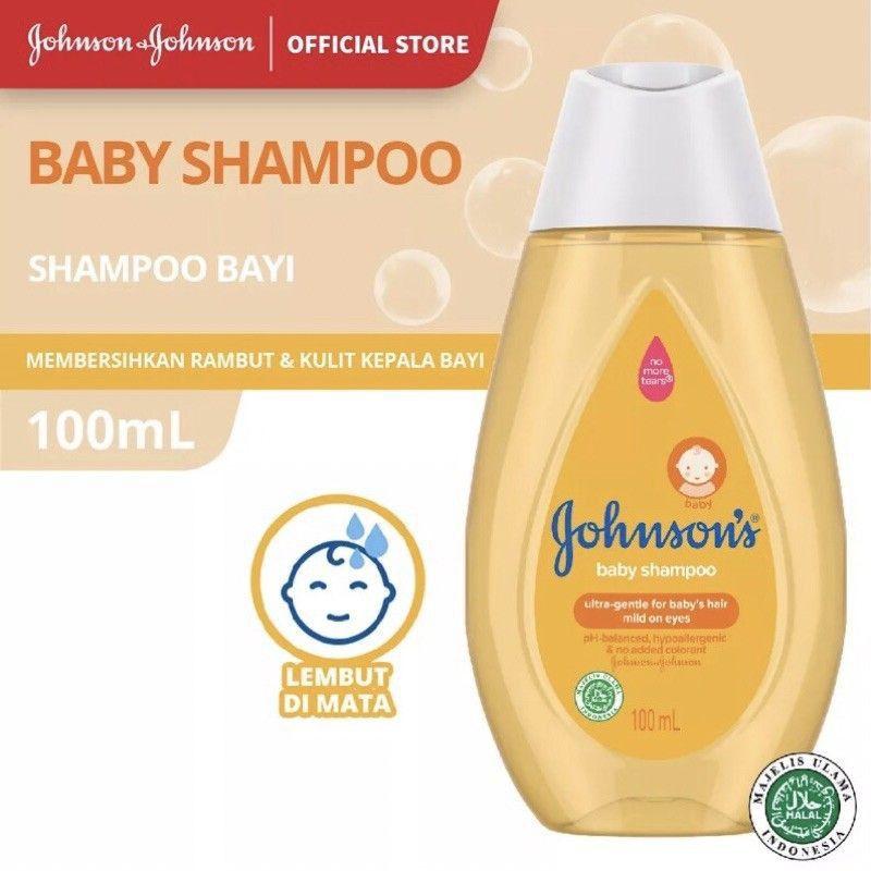 Johnson's Baby Shampoo 100ml-1