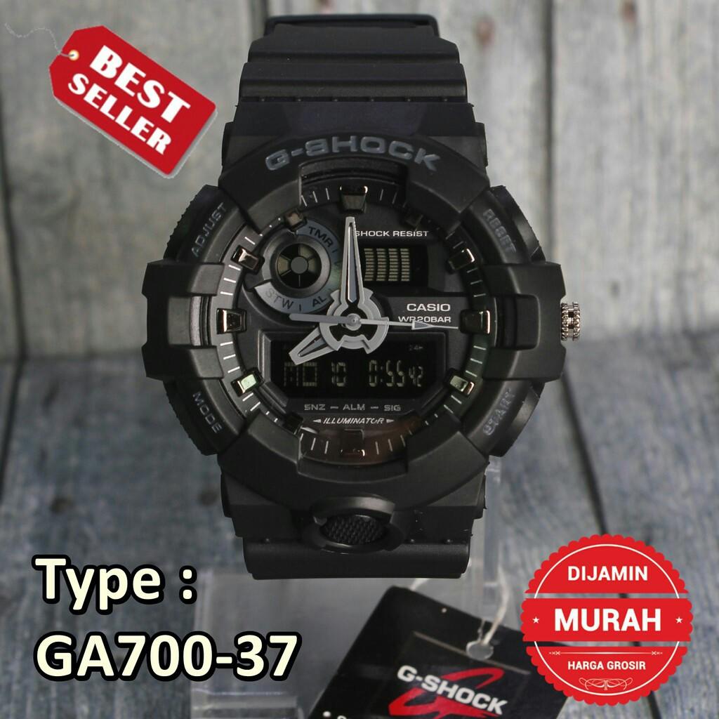 Casio Original Aeq 110w 1b Jam Tangan Pria Digital Analog Hitam Strap Karet 110bw 9a G Shock Shopee Indonesia