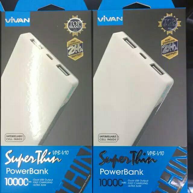 Powerbank Vivan V10 10000 Original by Vivan
