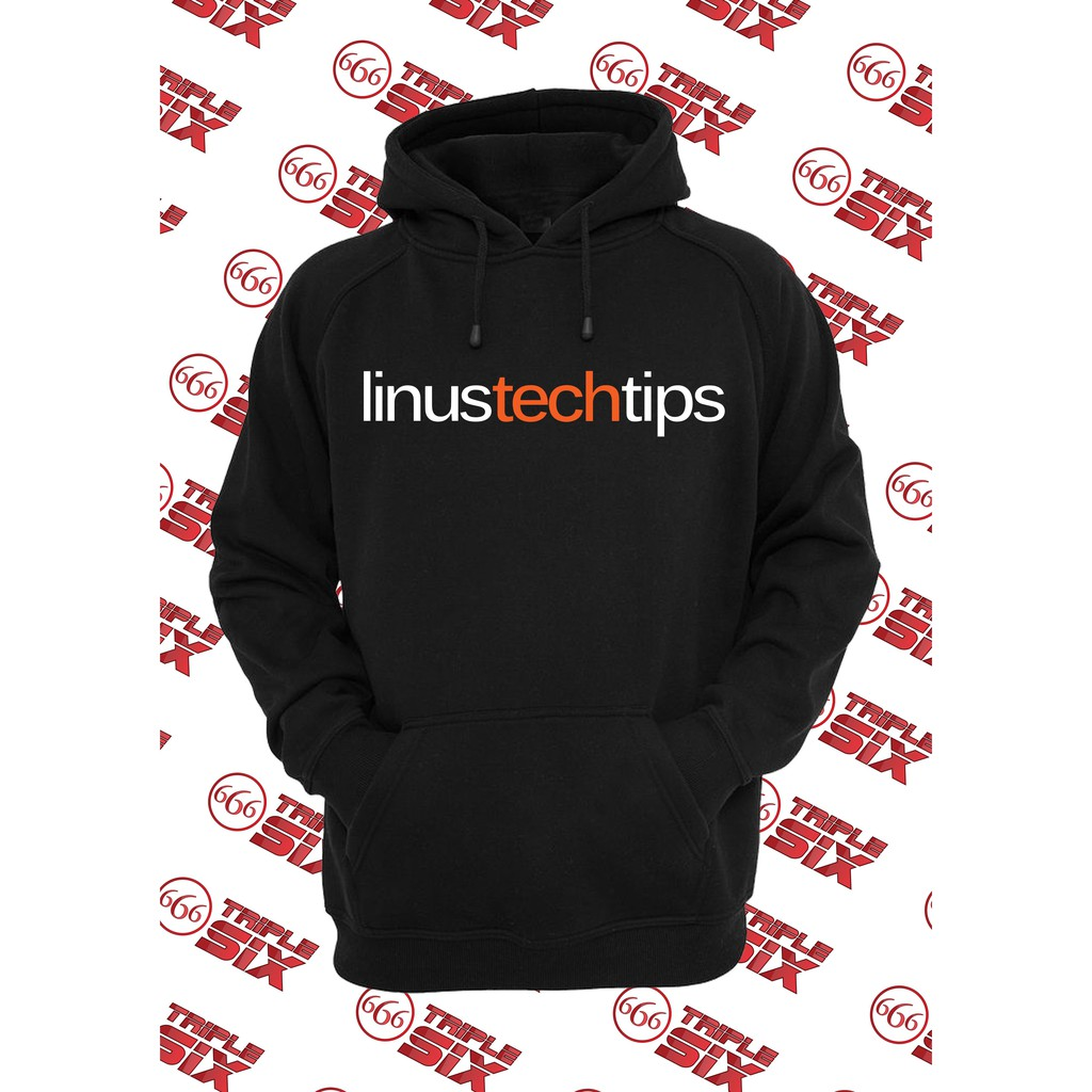 Jaket Hoodie Linus Tech Tips Shopee Indonesia