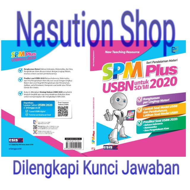Terbaru Buku Spm Plus Usbn Untuk Sd Mi 2020 Dilengkapi Kunci Jawaban Shopee Indonesia
