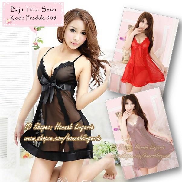 Lingerie Wanita Sexy Lingeri Baju Tidur Dewasa La Senza Transparan Seksi  Murah hitam  204d9d9048