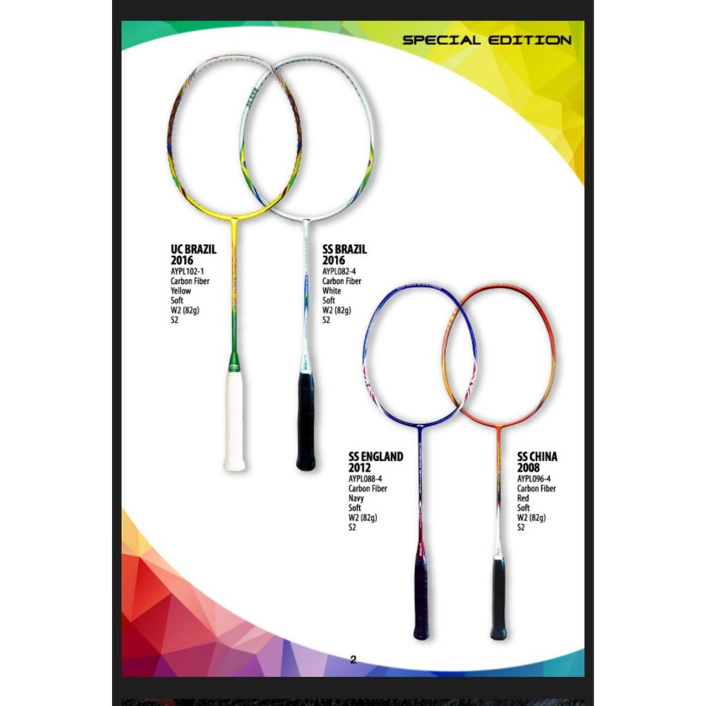 Raket Badminton Original Lining Super Series Ss Brazil Referensi 99 Plus Superseries 2016 Olimpiade Shopee Indonesia