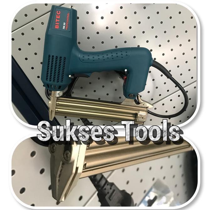Jual Mesin Paku Tembak Bitec Tm30 / Electric Nailer Tm 30 Limited Edition | Shopee Indonesia