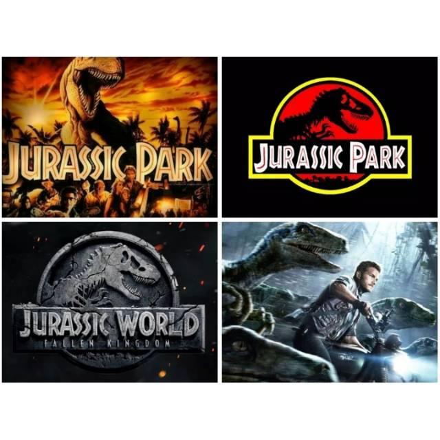 Jurassic Movie Collection Subtitle Indonesia | Shopee ...