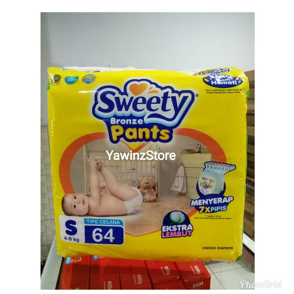 Sweety Silver Pants Size Xl44 Popok Bayi Shopee Indonesia Pantz Royal Gold Xl 44 New
