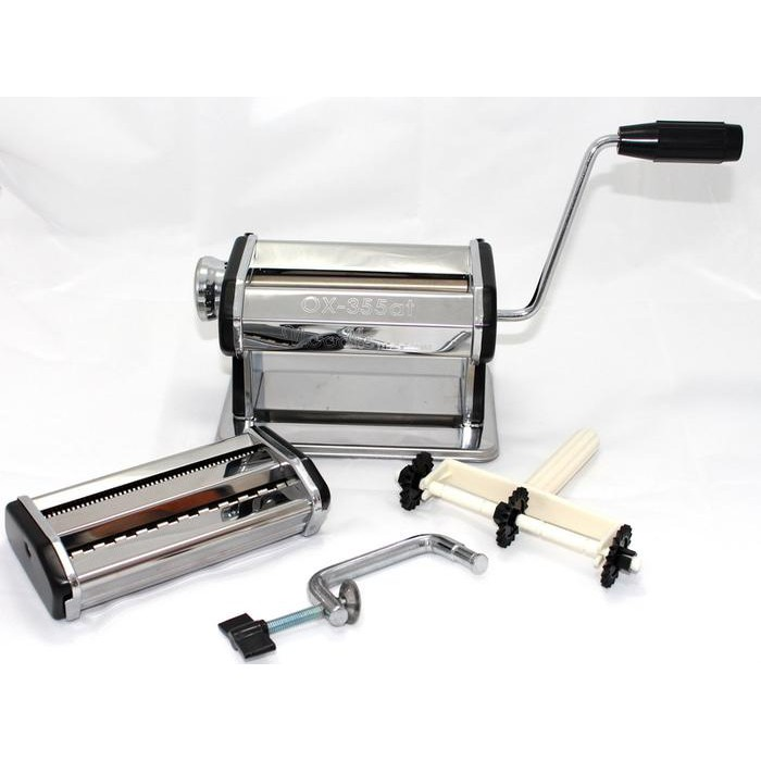 Oxone Gilingan Mie / Molen / Pasta - Stainless Steel Noodle Machine OX-355AT | Shopee Indonesia