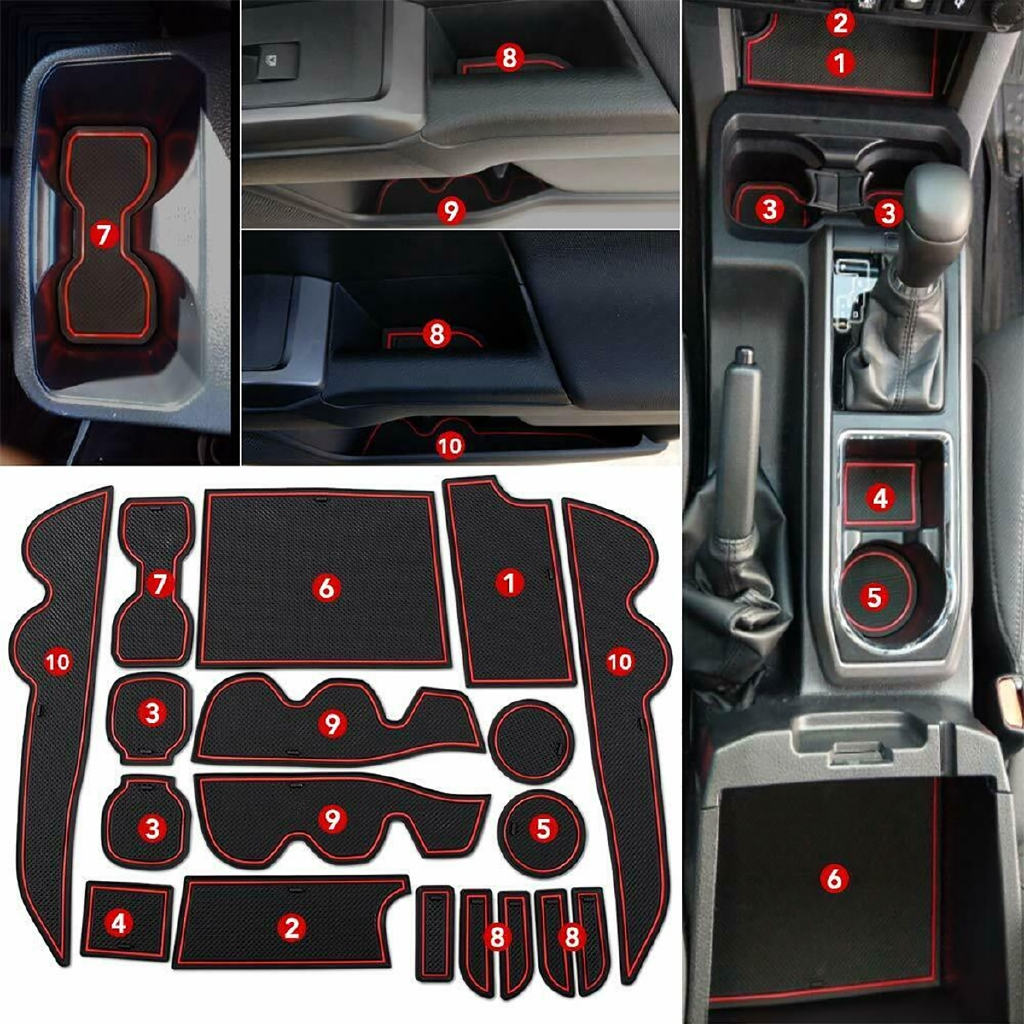 For Mitsubishi Eclipse Cross w// EPB Dashboard Gear Shift Cup Holder Panel Cover