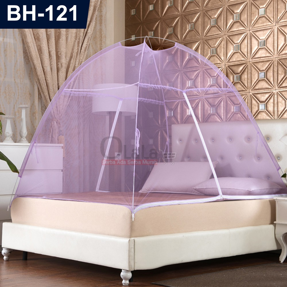 Kelambu Tenda Bh 123 Ukuran 180 X 200 Shopee Indonesia Tidur Lipat 180x200cm