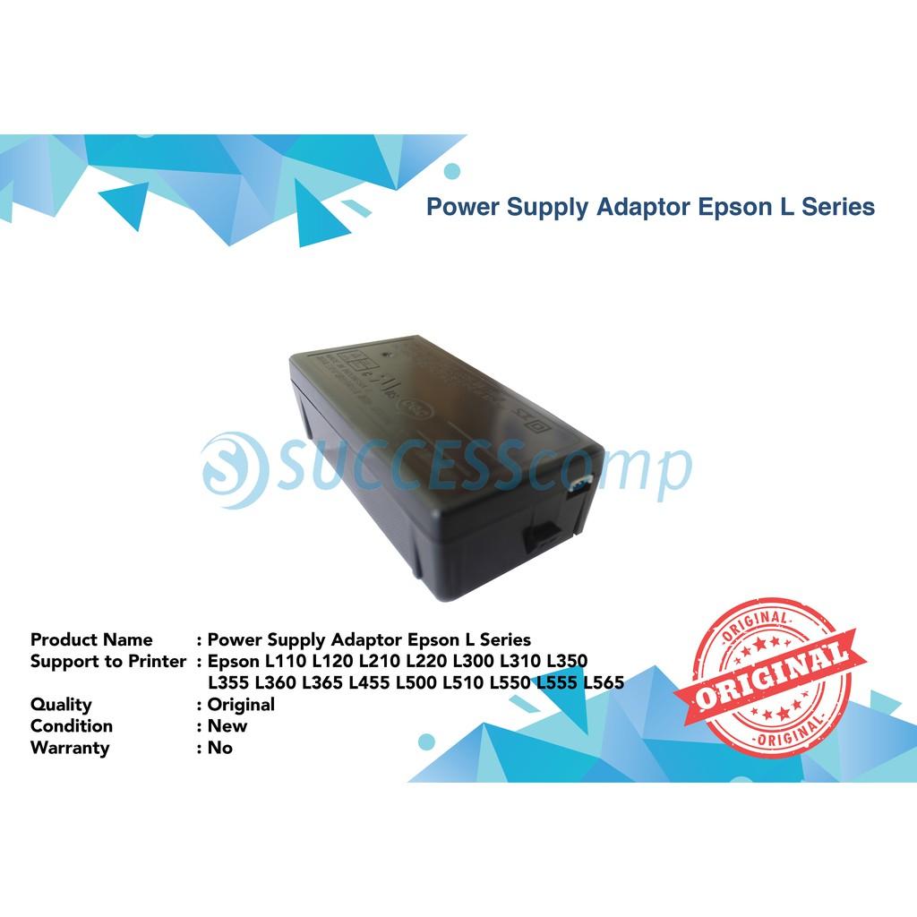 Adaptor Power Supply Epson L110 L210 L300 L350 L120 L220 L310 L360 Timing Belt Original New Shopee Indonesia
