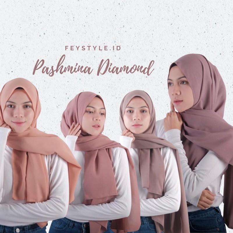 Bahan Pashmina Diamond