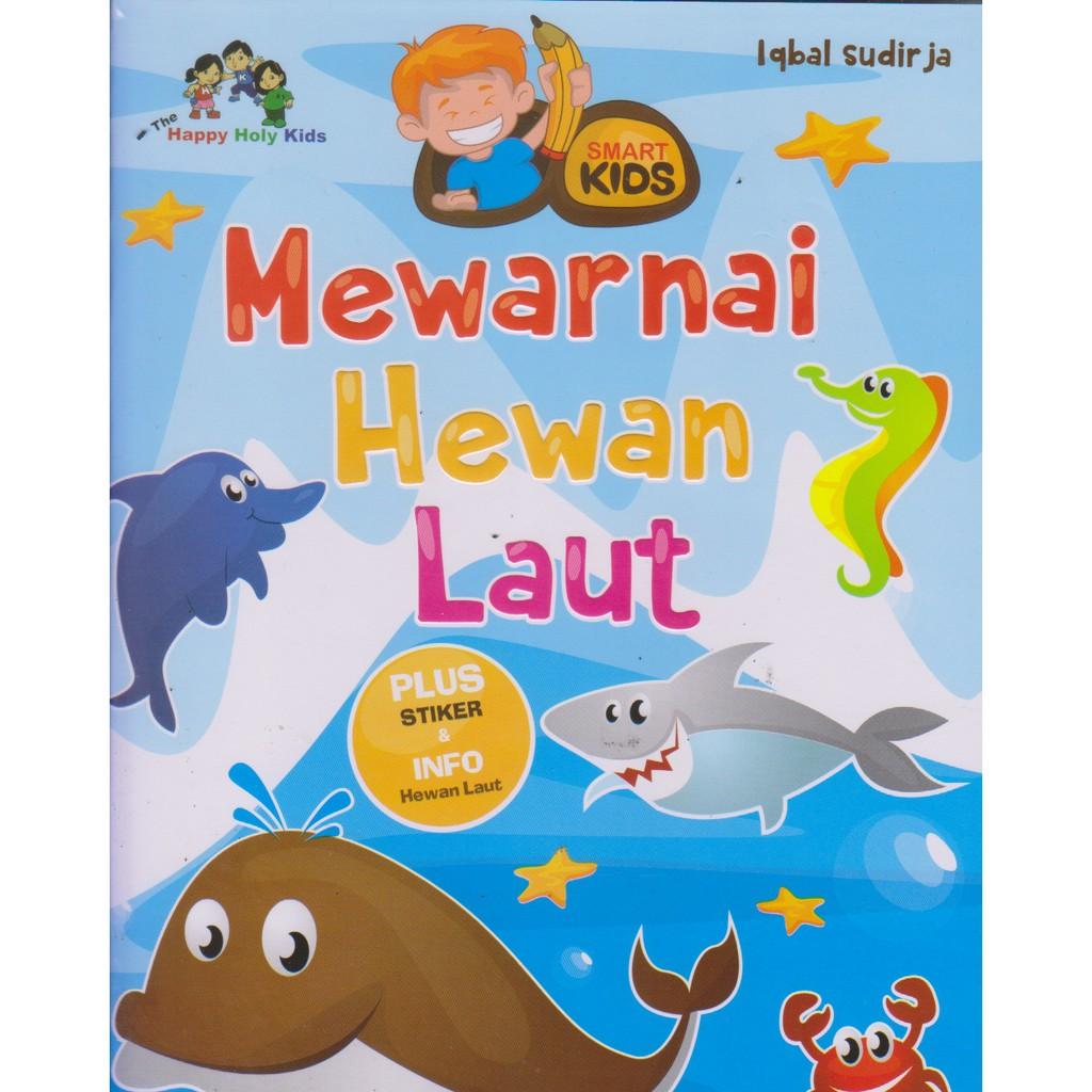 Mewarnai Hewan Laut By Iqbal Sudirja