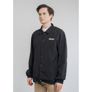Erigo Coach Jacket Odaiba Black #3