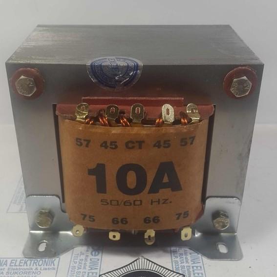 TRAFO 10 AMPER CT 75 VOLT - EXCELL original