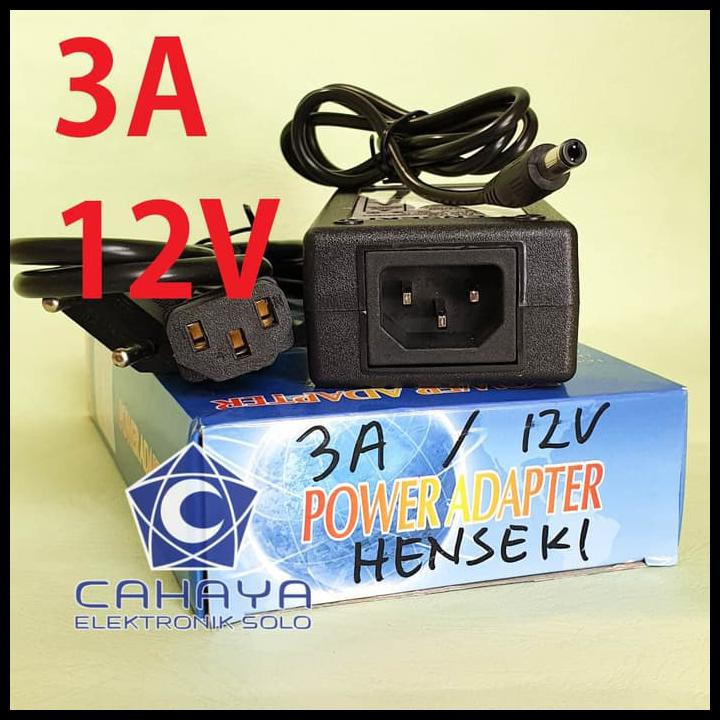 Promo Besar Besaran Adaptor 3a 12v Henseki Power Supply Ac Dc Volt 3 A Ampere 12 Volt Shopee Indonesia