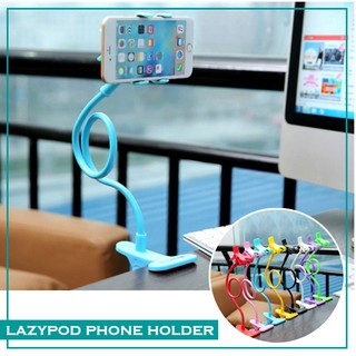 Lazypod Lazy Pod 2 Clips Phone Holder Model Stand Jepit