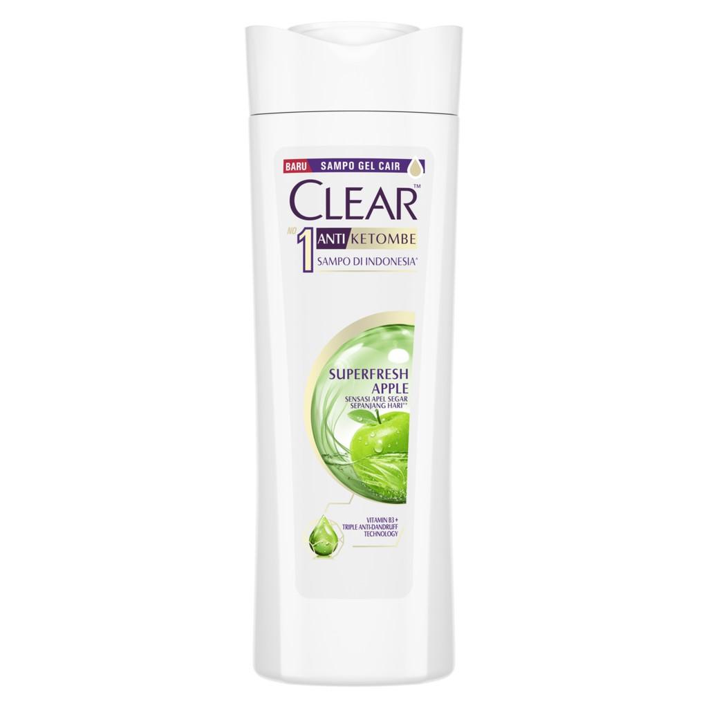 Clear Shampoo Anti Ketombe Super Fresh Apple 70 Ml-1