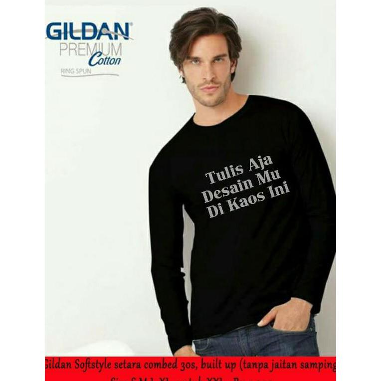 kaos panjang - Temukan Harga dan Penawaran Online Terbaik - Pakaian Pria September 2018   Shopee