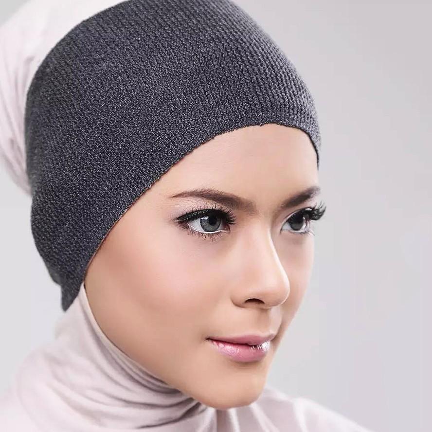Premium Basic Inner Bandana Rajut | Ciput Rajut Inner Hijab Anpus Anti Melar  | Fashion Muslim