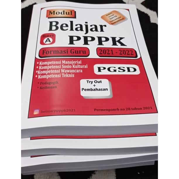 (PGSD Lengkap) Modul Buku PPPK Guru SD PGSD 2021 BelajarPPPK CPNS ASN fahri.exhaust