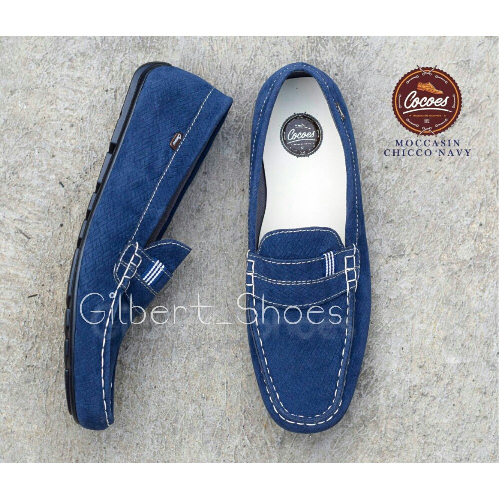 G S Cocoes Moccasin Ballerino Sepatu Slip On Pria Terbaru Kulit Cepc Pantofel Sintetis Murah Casual Shopee Indonesia