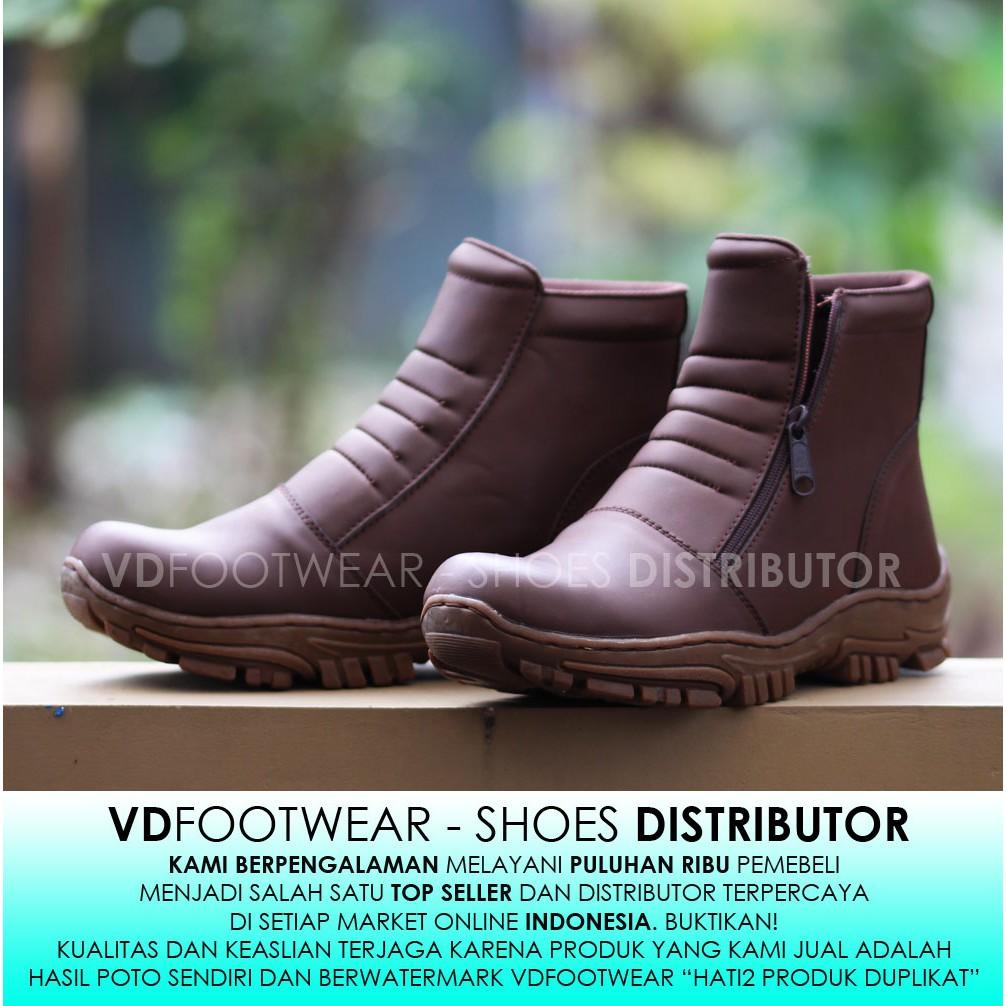 Catenzo DM 102 Sepatu Boots Safety Pria  8993490b27