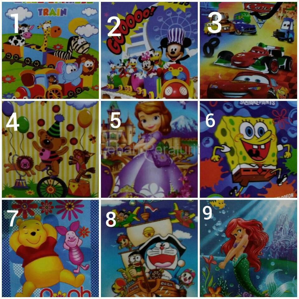 Ss Selimut Anak Bayi Rosanna Vito Kids Sutra Panel Minnie 100x140 Keroppi Shopee Indonesia