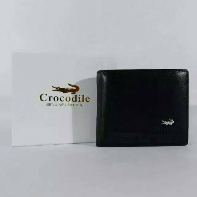 DOMPET KULIT ASLI IMPORT PRIA ED CROCODILE BLACK C360-12 BRANDED MURAH  4ee5ac57d4