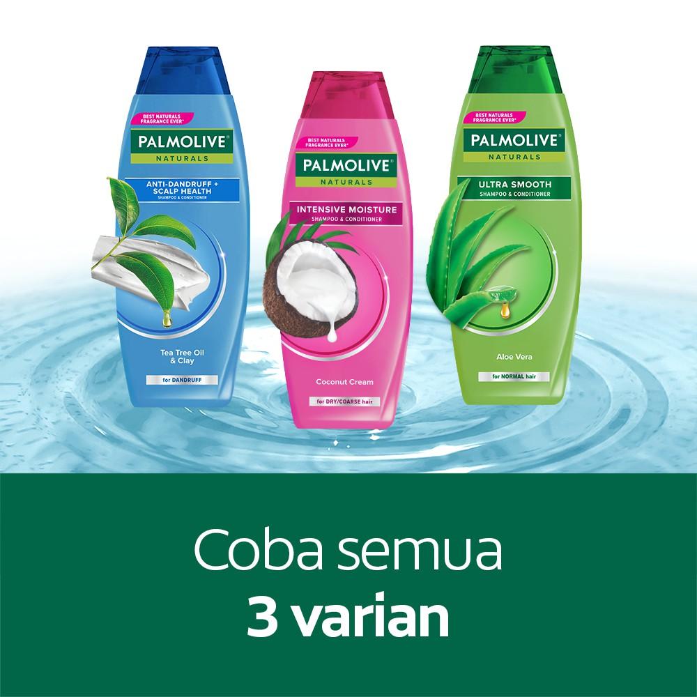 Palmolive Naturals Shampoo & Conditioner Intensive Moisture 180ml - Shampo Kondisioner-6