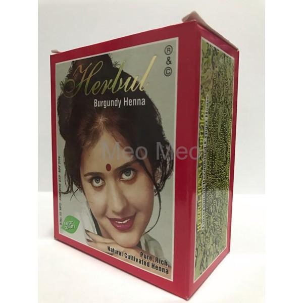 Ready Semir Rambut Hashmi Henna Warna Hitam Burgundy Special Brown