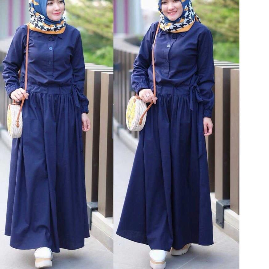 !DISKON SADIRA DRESS Baju Gamis Terbaru 2020 Gamis Wanita Muslim Wanita Elegant Trendy Gamis Simple