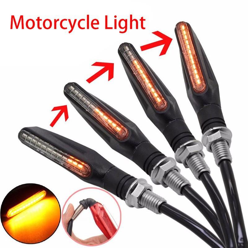1pc Lampu Led Indikator Sinyal Belok Untuk Sepeda Motor