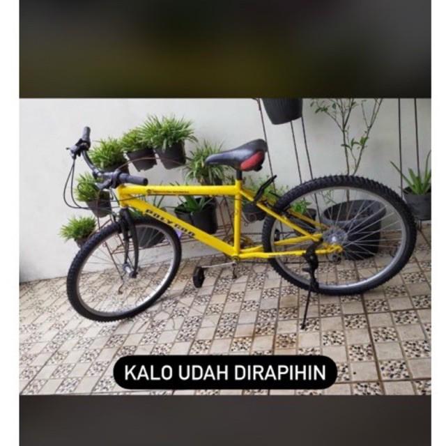 sepeda polygon bekas kampus ui murah