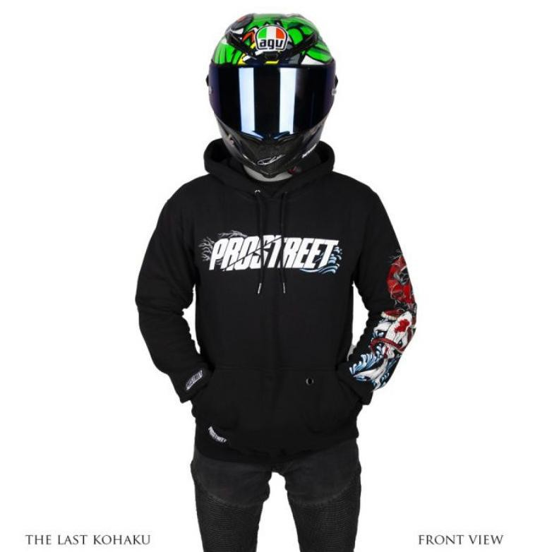 HOODIE PROSTREET THE LAST KOHAKU V3 NEW ORIGINAL | NOT BLOOD FLOWER | NOT ORIENTAL (ART. X5877)