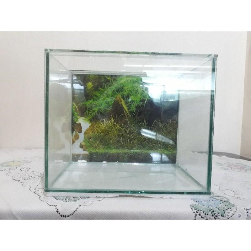 Aquarium 30x25x20 tebal full 5ml