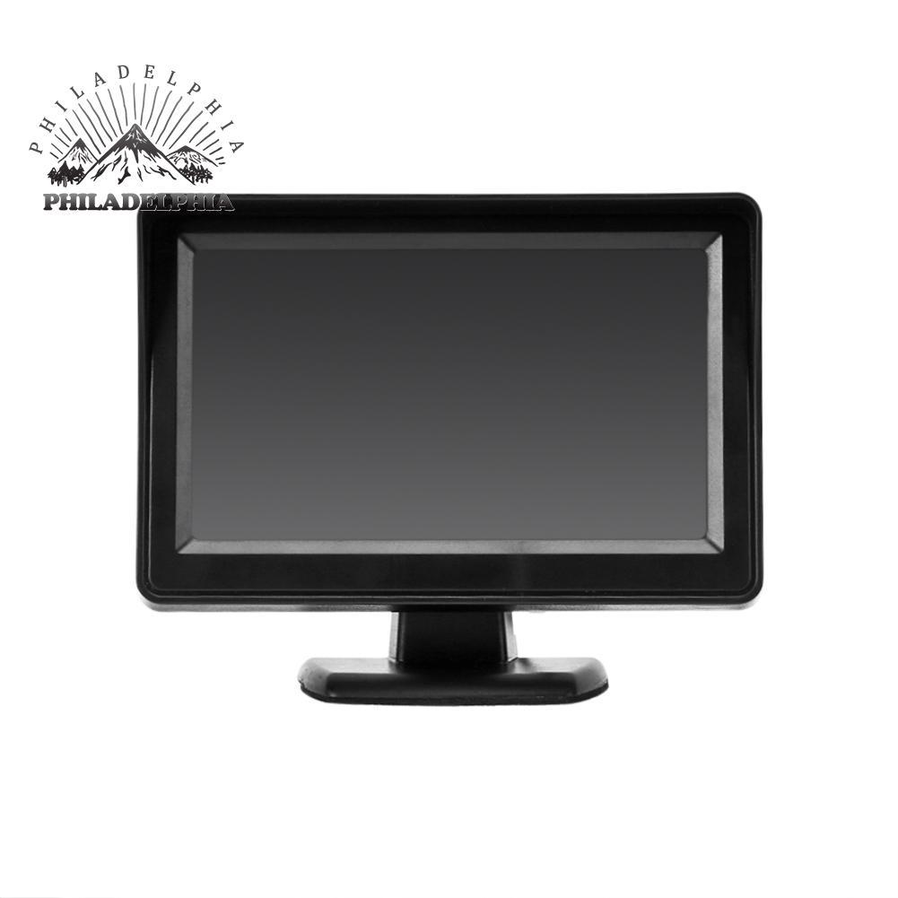 8 LED Night Vision Car Rear View Reverse Backup Camera 4.3 inch LCD Monitor