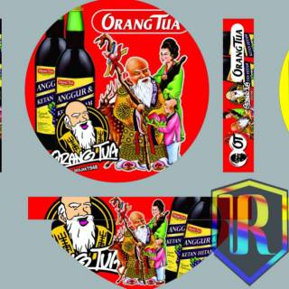 Sticker Tebok Stiker Decal Sobat Ambyar Shopee Indonesia
