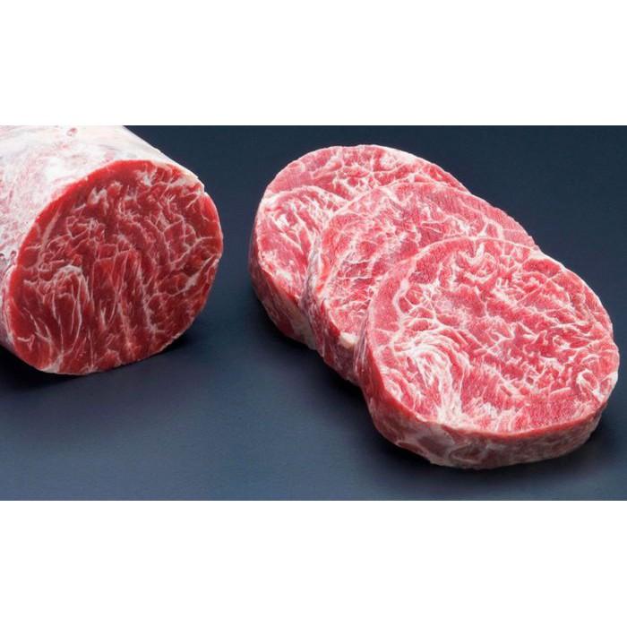 Daging Sapi Wagyu Meltique Meltik Tenderloin Loin Fillet Steak Hokubee