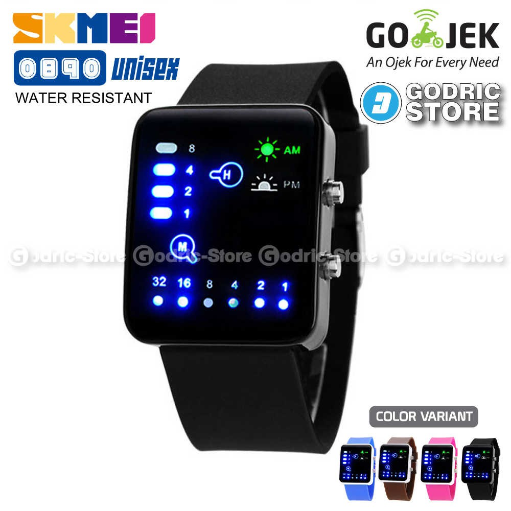 SKMEI Jam Tangan Pria Cowok Sport Analog LED 1155 AD1155 Original Anti Air   8850aea6e2