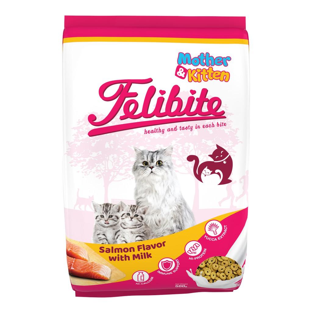 Makanan Kucing Felibite Cat Food Mother Kitten Premium Freshpack