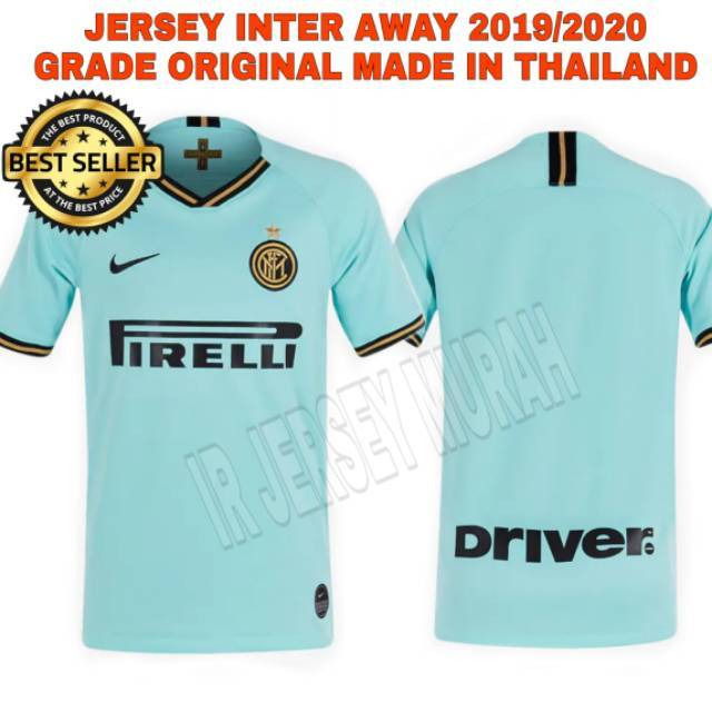 brand new 0556b fc804 Jersey Bola Inter Milan Away 2019/2020 Import Grade Ori Top Quality