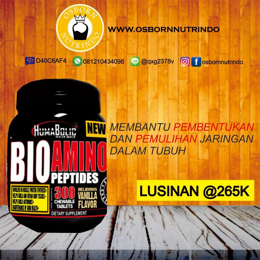 Humabolic Bio Amino 300 Tablet Shopee Indonesia Xtreme 330 330tablet Ultimate Nutrition Extreme