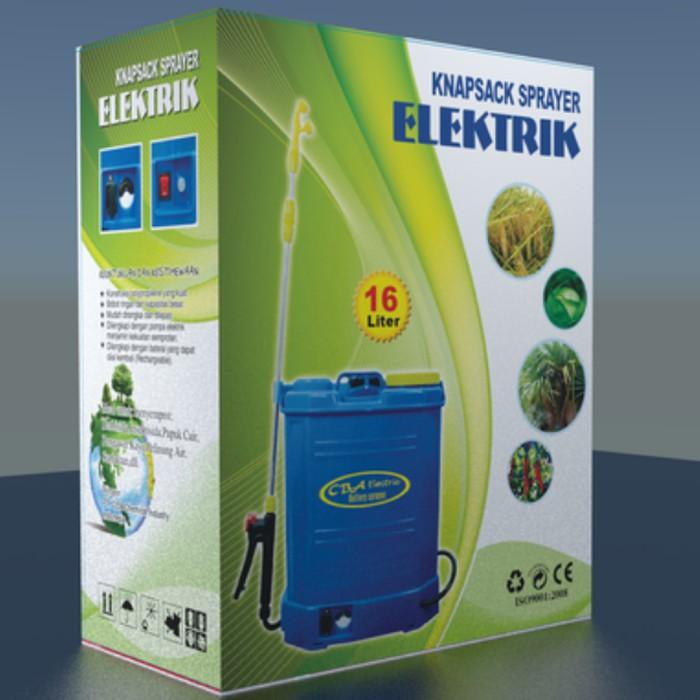 Knapsack Sprayer Elektrik CBA / Semprotan + Disinfektan 5 liter