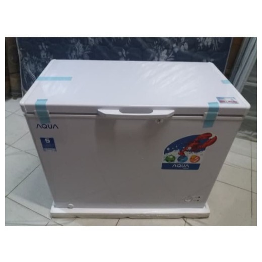 AQUA Chest Freezer / Box Freezer 200 Liter AQF-200 PROMO GARANSI RESMI