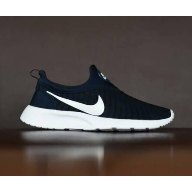 Sepatu Sport Santai Nike Kaishi Run Slip On Slop Tanpa Tali
